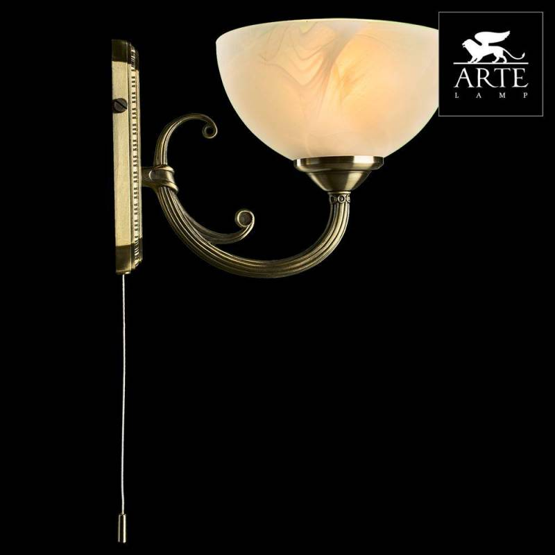 Фото 3: Бра Arte Lamp Windsor White A3777AP-1AB